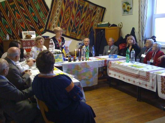 Зїзд Товариства Бойківщина у Великобританії - виступ Голови Товариства