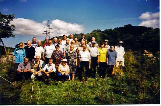 Кривоозерці в с. Скородне. 2004 рік